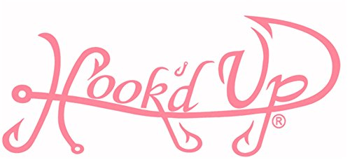 Hook'd Up Signature Decal 8 X 24 Pink Signature Hooks Hook
