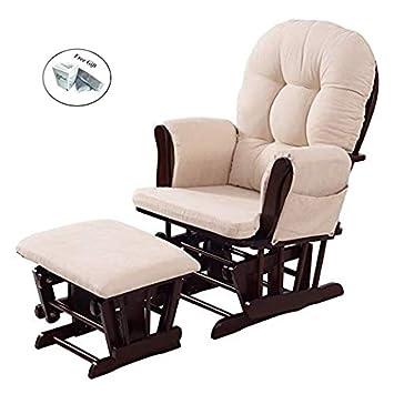Image Unavailable  sc 1 st  Amazon.com & Amazon.com: Baby Nursery Relax Rocker Rocking Chair Glider u0026 Ottoman ...