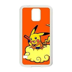 Pikachu Pokemon Pocket Monster Black Samsung Galaxy S5 case