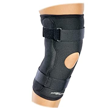 879ae44a90 Image Unavailable. Image not available for. Color: DonJoy Drytex Economy Hinged  Knee Brace - Wraparound ...