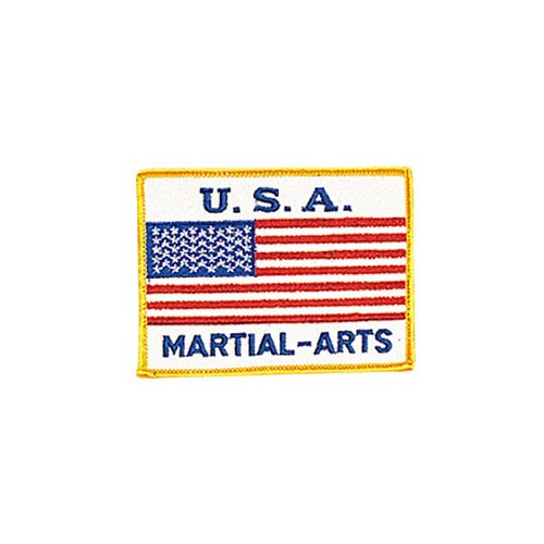 USA - Martial Arts Patch - 4'' Dia. - 10 Pack