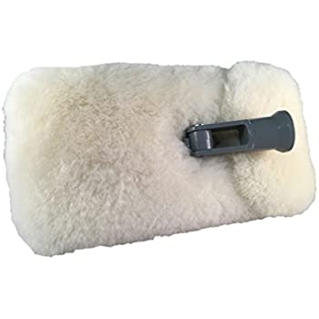 "Mary Moppins 9"" Pure Lambswool Wash and Pad Holder"