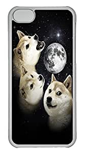 iPhone 6 4.7'' Cases & Covers Three Doge Moon HAC1014467 Custom PC Hard Case Cover for iPhone 6 4.7'' Transparent