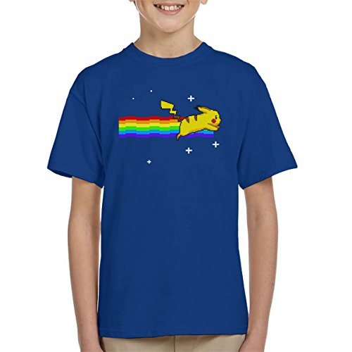 Pokemon-Pikachu-Nyan-Cat-Kids-T-Shirt