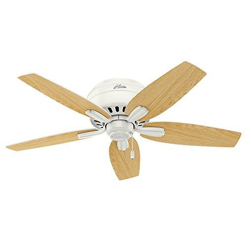 Hunter Fan Company 51080 Newsome Ceiling Fan with Light, 42''/Small, Fresh White by Hunter Fan Company (Image #9)