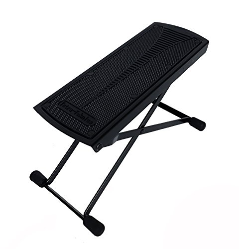 Tetra-Teknica Essentials Series GFR-01 6-Position Height Adjustable Guitar Foot Rest, Color Black
