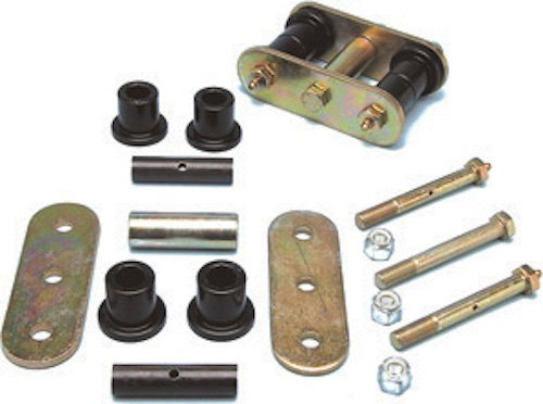 Currie Enterprises CE-9040P Front Spring Shackle for Jeep Wrangler YJ by Currie (Image #1)