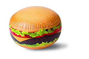 BigMouth Inc Burger Inflatable Ball