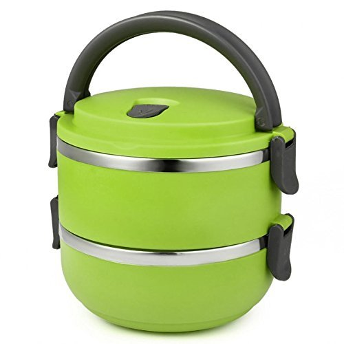 Buy Samplus Mall Layer Lunch Box Picnic Food Container Tiffin Hot
