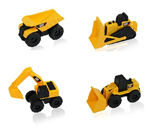 Cat Construction Toys For Toddlers : Cat mini machine caterpillar construction toy truck