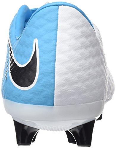 Nike Herren Hypervenomx Phelon Ag-Pro Fußballschuhe Elfenbein (White/black/photo Blue/chlorine Blue)