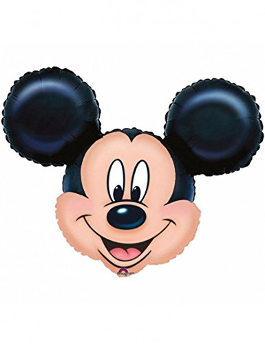 Mickey Mouse Head Mini Shape Balloon (Mini Mickey Balloon)