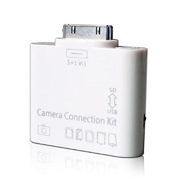 Amazon.com: USBKIT182 5-in-1 Camera Connection Kit USB SD/TF Card ...