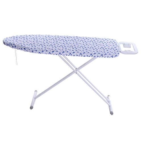 QEES Durable Ironing Board Cover with 4mm Foam Printing Polyester Suitable for 51