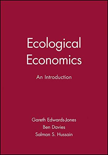 - Ecological Economics: An Introduction
