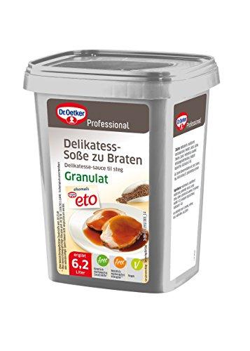 Dr. Oetker Professional Delikatess-Soße zu Braten, Granulat, 1er Pack (1 x 720 g)