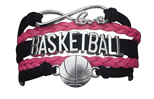 Basketball Bracelet- Charm Bracelet- Basketball Jewelry For Girls- Perfect Basketball Gift (Basket Ball Gifts)