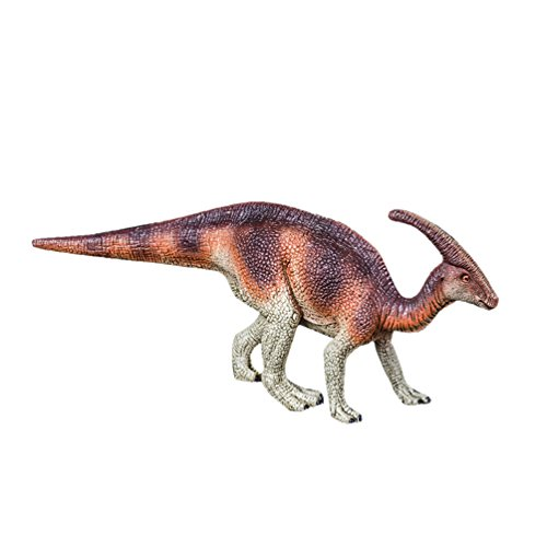 7.5' Action Figure (Uarter Realistic Kids Parasaurolophus Figure Educational Parasaurolophus Dinosaur Toys Practical Parasaurolophus Action Figure, Parasaurolophus Pattern)