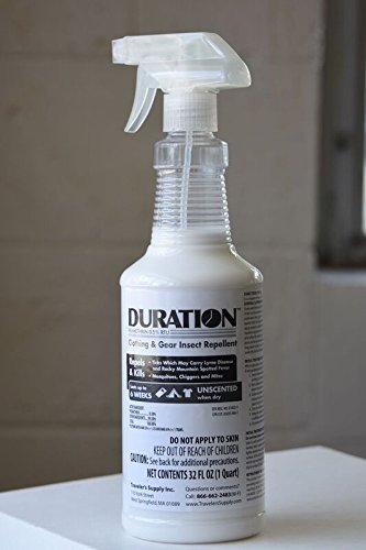 Duration 0.5% Permethrin Clothing Insecticide Trigger Spray (32 Oz)