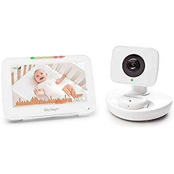 """Baby Delight Snuggle Nest Video Baby Monitor with Alarm 