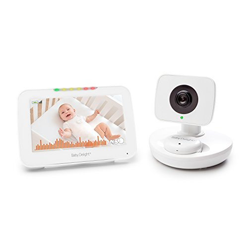"Baby Delight Snuggle Nest Video Baby Monitor with Alarm | 5.0"" LCD Screen 