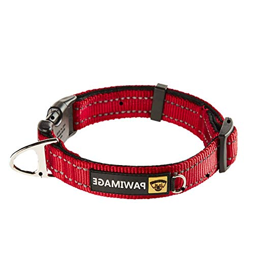 Black Collar (Spot) Xm- Medium (Neck Circumference 32cm-46cm Recommended 20-50 Pounds) (Spot) Small and medium-sized dog collar dog collar large dog supplies dog collar collar collars golden, horse and dog