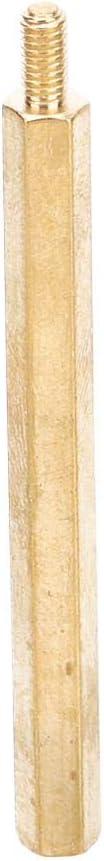 M325 100pcs//50pcs//30pcs//20pcs Hex Standoff Brass M3 Copper Column Type Single Head Hex Nuts Assortment Set Isolated Column Nut Replacement Kits for PCB Bboards