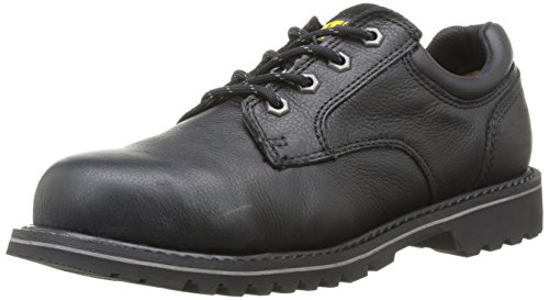 Shoes Leather Men's Oxfords Rubber Black Electric And Caterpillar Sb Safety q8v05qxw