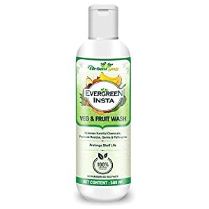 Urban yog vegetable and Fruit wash liquid cleanser concentrated 500ml – 100% food grade – disinfect & sanitize – make…