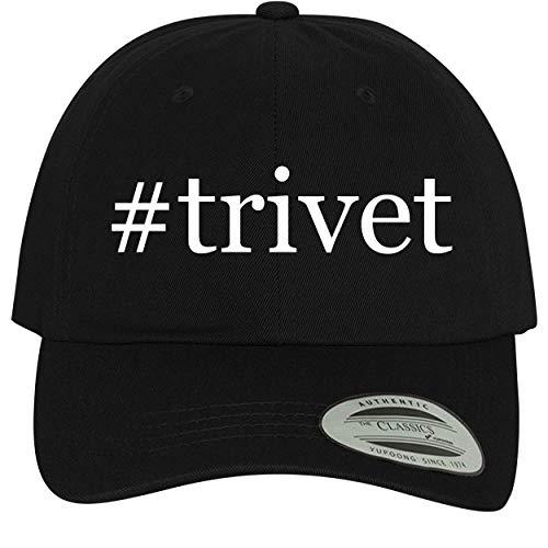 BH Cool Designs #Trivet - Comfortable Dad Hat Baseball Cap, Black ()