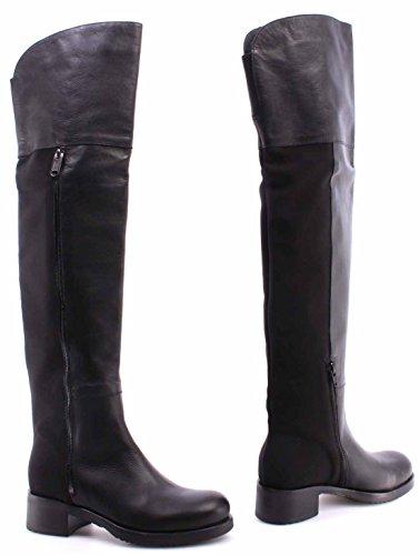 Botas Black Sapatos Botas Cuissarde Ita Femininas Jo Nappa Liu Couro Denise wCqqRZxgp