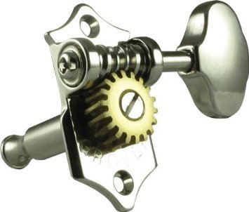 - Grover V97-18NA Sta-Tite Tuners, 18:1 Gear Ratio, 3-Per-Side, Vertical, Nickel