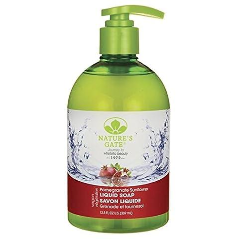 Nature's Gate Pomegranate Sunflower Liquid Soap 12.5 fl oz (369 ml) Liquid