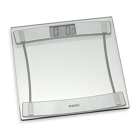Glass Digital Bathroom Scale 405, HoMedics®
