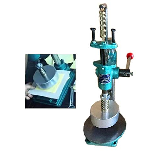 WellieSTR 1 Piece Pill Mini Press Machine,Lab Professional Tablet Manual Punching Machine Medicinal Making Device (6cm Circular Arc Mold)