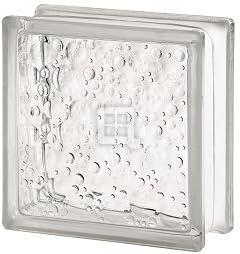 Quality Glass Block 7.5 x 7.5 x 3 Basic Savona Glass Block