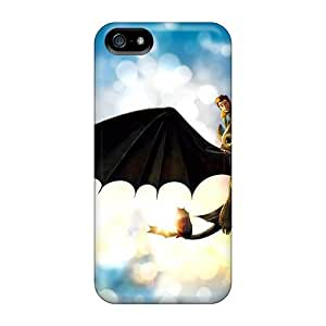 High Grade CalvinDoucet Cases For Iphone 5/5s - Hiccup Dragon Cartoons