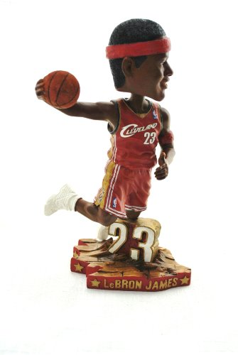 Lebron James Official NBA #23 dunking action Bobble Head Cleveland Caveliers by Forever