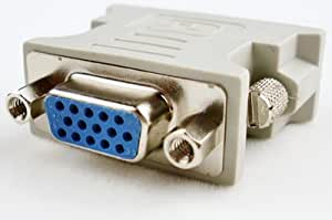 Well-connected DVI-D Male to HD15 Female Adapter