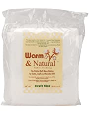 Warm Company 2310W Warm and Natural Cotton Batting-Craft Size 34-InchX45-Inch