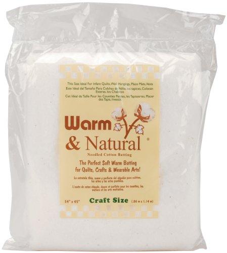 Warm Natural Cotton BattingCraft
