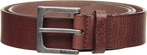 Timberland Men's Classic Jean Belt, Brown, 36