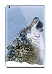 RPBSUmK5592ESqGd Tpu Phone Case With Fashionable Look For Ipad Mini/mini 2 - Wolf Animal Wolf