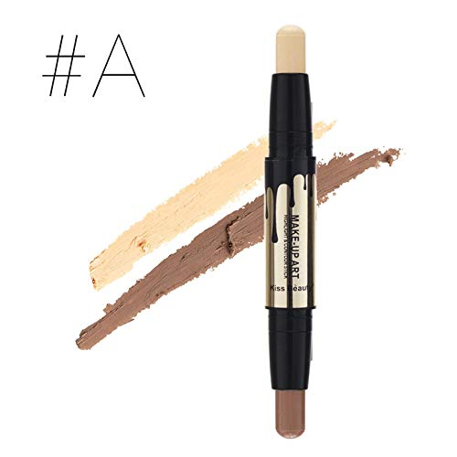 Double Ended Bronzer & Highlighter Sticks Concealer Pen Contour Stick Repair Flawless Cosmetics Makeup Face Cream