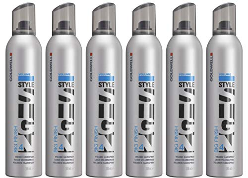 - Goldwell Style Sign Big Finish 4 Volume Hairspray 9.2 oz (Pack of 6) Original PKG