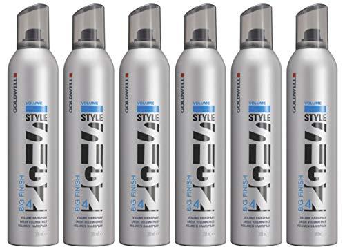 Goldwell Style Sign Big Finish 4 Volume Hairspray 9.2 oz (Pack of 6) Original PKG