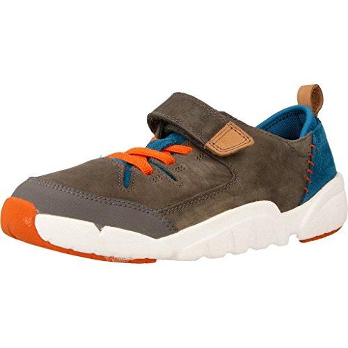 CLARKS Zapatillas Para NIÏ¿½o, Color Gris, Marca, Modelo Zapatillas Para NIÏ¿½o Tri Dash Jnr Gris gris