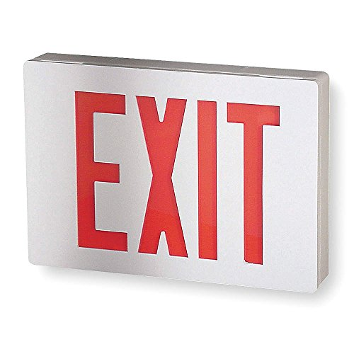 Lithonia Lighting LE S W 1 R Aluminum LED Emergency Exit ...