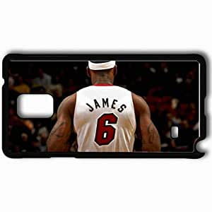 Personalized Samsung Note 4 Cell phone Case/Cover Skin 14765 heat wp 68 sm Black