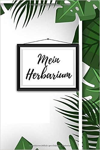 Deckblatt Schule Schule Dieses Herbarium